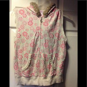 Girls sz XXL super cute JUSTICE vest